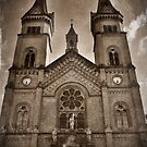 Cathedral Sepia by Remus Brailoiu