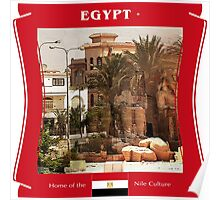Egypt - Home of the Nile Culture Poster