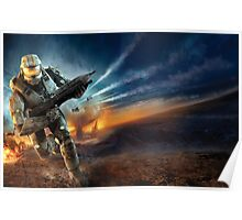 Master Chief Halo  Poster