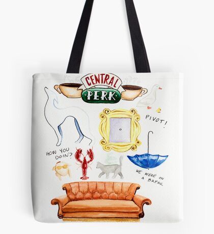 Friends TV Show Tote Bag