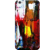 Coney Island (Part 2) acrylics on stretched canvas abstract impressionism iPhone Case/Skin