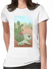 cactisuar Womens Fitted T-Shirt