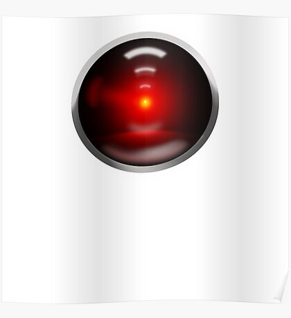 HAL 9000 Poster