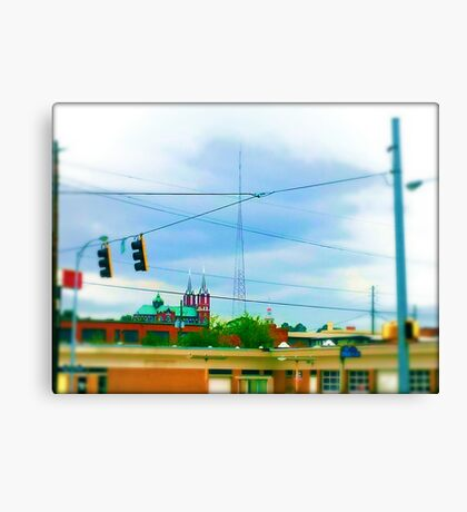 Urban Sprawl Canvas Print
