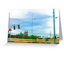 Urban Sprawl Greeting Card