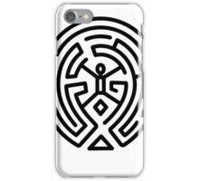 Westworld Black Maze Logo iPhone Case/Skin