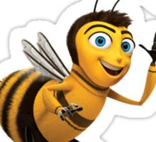 Wuz Poppin B Bee Movie wuss poppin Meme Sticker