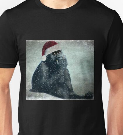 Merry Christmas From The Groovy Gorilla Unisex T-Shirt