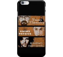 Personal Qualities iPhone Case/Skin