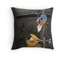 Singing Pirate at Sleepy Hollow Throw Pillow