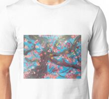 Cherry blossoms in spring Unisex T-Shirt