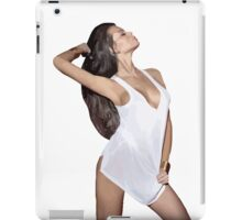 Sexy teen girl Curvy beautiful body Stunning pretty hottie Large Breasts iPad Case/Skin