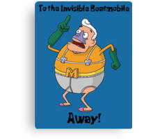Mermaid Man Canvas Print