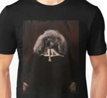 Portrait of a White-furred Dog Unisex T-Shirt
