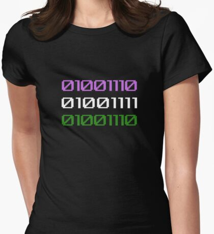 NON binary Womens Fitted T-Shirt
