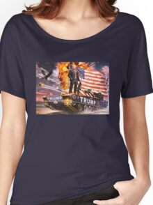 TRUMPSTER Women's Relaxed Fit T-Shirt