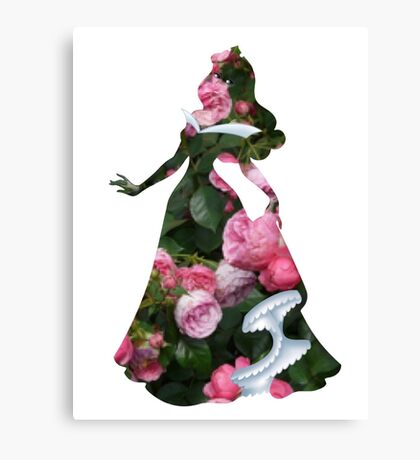Briar Rose Inspired Charcter Canvas Print