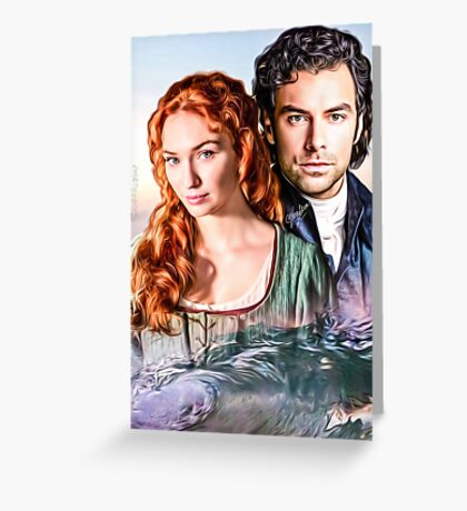 Demelza and Ross Greeting Card
