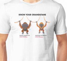 Know Your Orangutans Unisex T-Shirt
