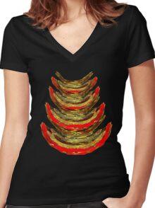 feelings No. 06122016 Women's Fitted V-Neck T-Shirt