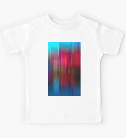 Red and Blue Reflection Kids Tee