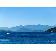 Beautiful afternoon blues Photographic Print