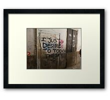 Graffiti- Venice Framed Print