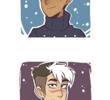 Voltron Holidays Sticker
