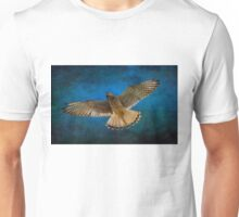 Kestrel in flight  Unisex T-Shirt