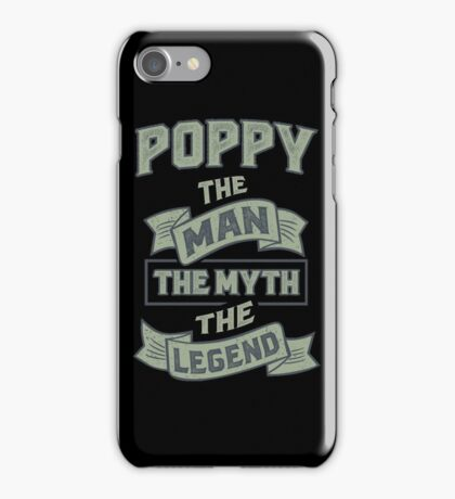 Poppy The Myth T-shirt Gifts! iPhone Case/Skin