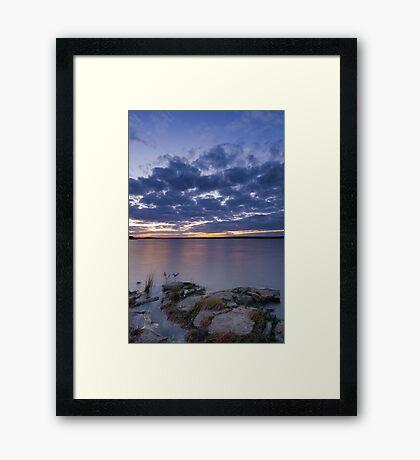 Tranquil Senset Framed Print
