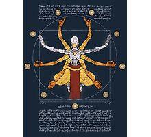 Vitruvian Omnic - color version Photographic Print