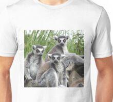 Lemur Family Group Unisex T-Shirt
