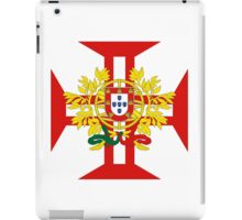 Portuguese Templar Cross with Coat of Arms iPad Case/Skin