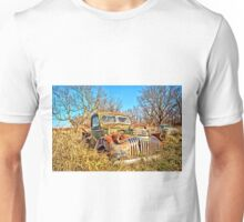 Old Steel And Chrome Unisex T-Shirt