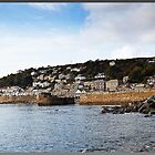 """""""Sun up in Mousehole in late September"""" by Malcolm Chant"""