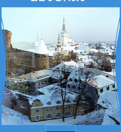 Estonia - Realm To The East Sticker
