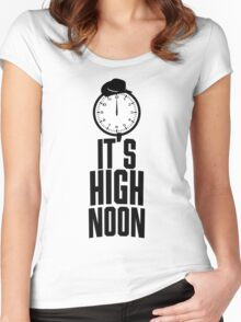 It's 12 O'Clock  Women's Fitted Scoop T-Shirt