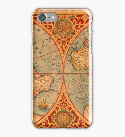 World Map 1587 iPhone Case/Skin