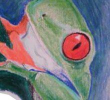 Tree Frog Sticker