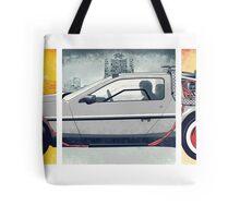 Back to the Future - DeLorean Tote Bag