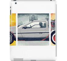 Back to the Future - DeLorean iPad Case/Skin
