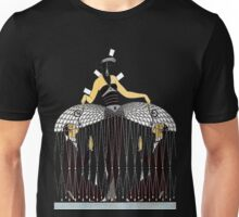 "Art Deco Design by Erte ""Improvised Cage"" Unisex T-Shirt"