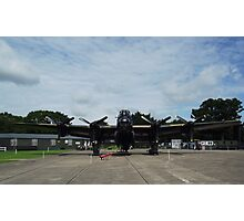 Avro Lancaster 'Just Jane'  RAF East Kirkby Summer 2012 Photographic Print