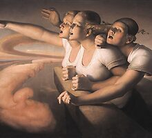 Return of the sun by Odd  Nerdrum