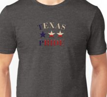 Texas Pride with Stars Unisex T-Shirt