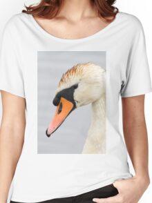 Swan Women's Relaxed Fit T-Shirt