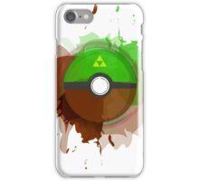 Legend of Zelda - Link Pokeball - Abstract iPhone Case/Skin