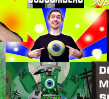 The Jakcseptic Art Sticker