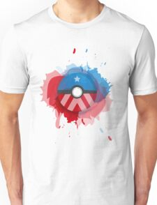Marvel's Captain America - Pokeball - Abstract Unisex T-Shirt